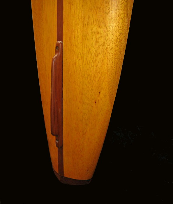 Hot Curl board with early fin (late 1930's) Surfing Heritage & Culture Center collection photo: Merson