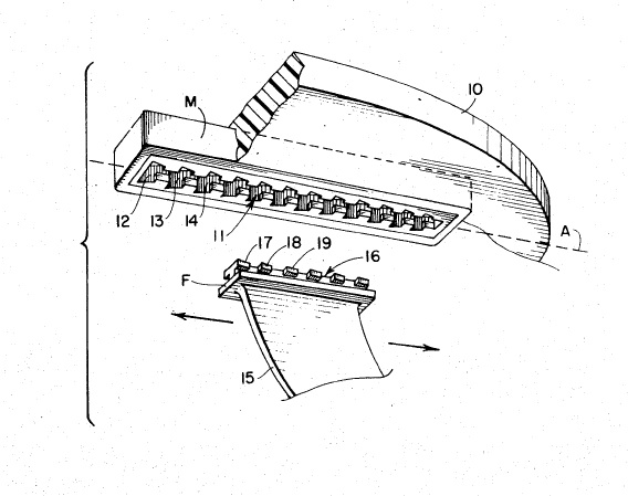 Johnson W.A.V.E. fin attachment structure