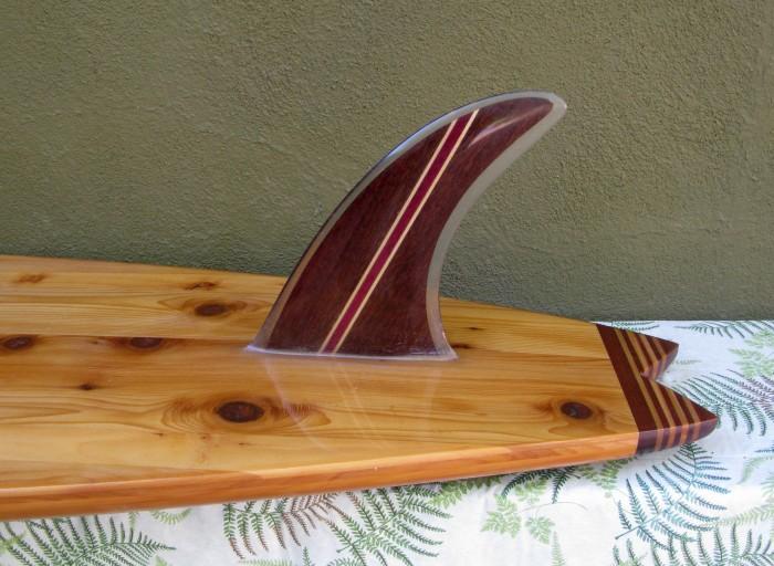 Merson hollow wood gun rosewood fin photo: Merson