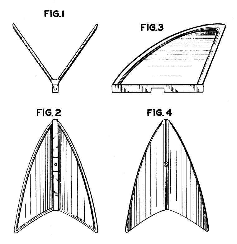 Vann Dual surfboard fin