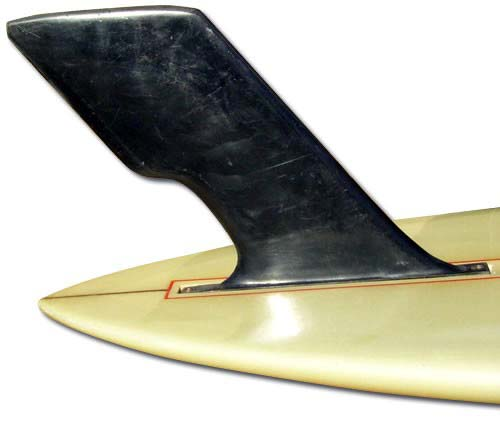 Dewey Weber pintail with removable Hatchet fin (mid 1960's)