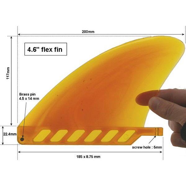 """Sarusurf 4.6"""" flex fin"""